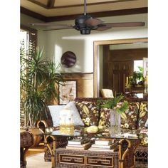 The Bianca Direcional ceiling fan has a bronze finish motor and stylish blades. Style # at Lamps Plus. Belt Driven Ceiling Fans, Contemporary Ceiling Fans, Bronze Ceiling Fan, Room Lamp, Cool Lighting, Ladder Decor, It Is Finished, House Design, Table Decorations