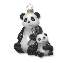 Panda ornament to support the World Wildlife Fund