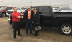 Gary and Diane, life is about the journey!   We hope you enjoy your new vehicle from all of us at Kunes Country Chevrolet Buick GMC!