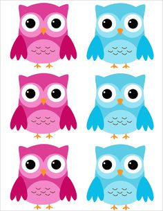 Printables For Owl Themed Sleepover Party
