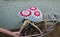 crocheted seat cover ☺