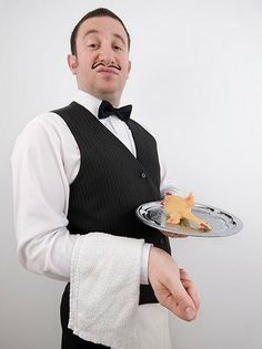 Image result for french waiter