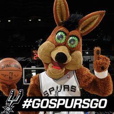 Best mascot in the NBA! #GOSPURSGO #Spursfanforlife #SpursNation
