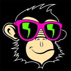 Alberto picked this 1 minute music track Track, Neon, Music, Monkey, Fictional Characters, Image, Star, Neon Tetra, Monkeys