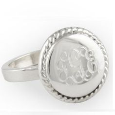 i really need a  monogram ring