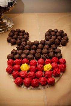 Disney Cake Balls