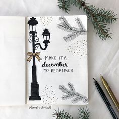 """it a december to remember ✨🌲🎀 Make it a december to remember ✨🌲🎀 It's amazing how relationships can move so swiftly, from the point that says: """" I really want to get to know you better."""" """"I accept every pa. Bullet Journal Christmas, December Bullet Journal, Bullet Journal 2020, Bullet Journal Notebook, Bullet Journal Aesthetic, Bullet Journal Spread, Bullet Journal Inspo, Bullet Journal Layout, Bellet Journal"""