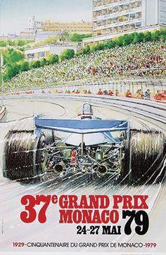 Monaco Grand Prix, 1979 ~ Alain Giampaoli
