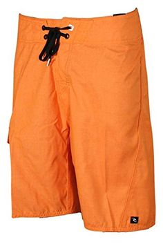 Rip Curl Mens Overthrown Heather Board Short Orange 34 ** Offer can be found by clicking the VISIT button