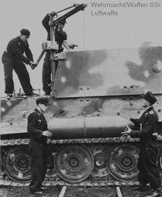 historywars: Loading 380mm shell into a Sturmtiger