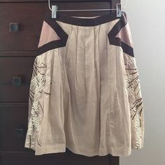 Anthropologie skirt Floreat for Anthropologie skirt. Worn once. Excellent condition. Anthropologie Skirts A-Line or Full