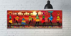 Mermaid Poster, Superhero Poster, Large Art Prints, African Home Decor, Canvas Poster, African Art, Female Art, Watercolor Art, Photo Art