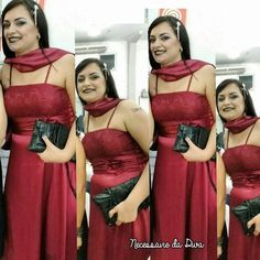Meu Look – Vestido de Festa.   Necessaire da Diva