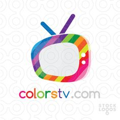 Colorful TV by Moonlight Channel Logo, Make Your Logo, Logo Design, Graphic Design, Kids Logo, Social Media Design, Moonlight, Business Cards, Digital Art