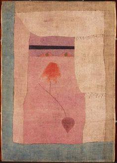 Inspiration for tapestry. (via paintings)Arabian Song Paul Klee (1932)