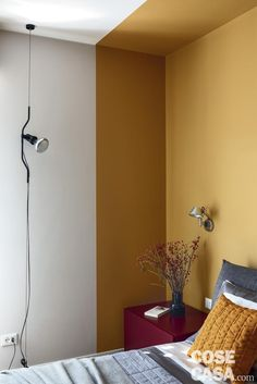 Bedroom Wall Designs, Bedroom Wall Colors, Room Decor Bedroom, Wall Paint Colour Combination, Room Wall Painting, Interior Walls, Color Interior, Room Color Schemes, Living Room Paint