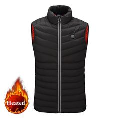 Intelligent USB Heated Vest Weather Change, Body Warmer, Stay Warm, Canada Goose Jackets, Best Gifts, Hiking, Usb, Winter Jackets, Vests