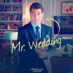 Wedding -- The Mindy Project. I love peter so much it hurts my heart. Modern Family Quotes, Drunk History, The Mindy Project, Mindy Kaling, Pop Culture References, American Dad, Adventure Time Art, Moving Pictures, Music Tv