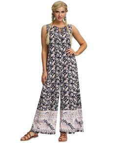 Boho Floral Leaf Printed Dark Blue Wide Leg Sleeveless Jumpsuit, the new jumpsuits and rompers collection is extremely complex and bold, stylish and chic. Package Contains one piece of jumpsuit Size Fits Available for women. True to size. Place order base on size chart will be better.S, M, L Color dark blue Pattern flo Jumpsuit Style, Bodycon Jumpsuit, Leaf Prints, Daily Wear, Going Out, Wide Leg, Size Chart, Jumpsuits, Dark Blue