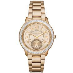 Michael Kors - Madelyn Yellow Gold-Tone Watch MK6287