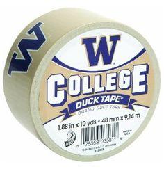 University of Washington Husky duct tape