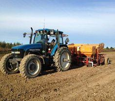 NEW HOLLAND TM165 FWD New Holland Ford, New Holland Tractor, Ford Tractors, Ford News, Fiat, Farming, Ranch, Tractors, Farm Gate