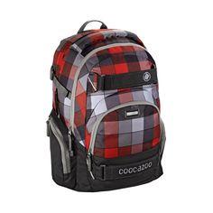 Coocazoo Schulrucksäcke CarryLarry2 Rucksack Red District
