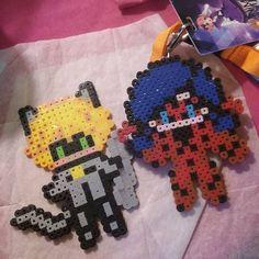 Miraculous Ladybug  perler beads by anime_narrative