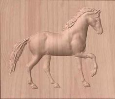 A unique horse for your router