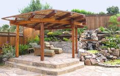 Japanese Shade Structure