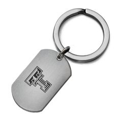 "High quality ""Officially Licensed"" key ring made from solid stainless steel. Keep your favorite school with you all the time as you keep track of your keys with our licensed key rings. High quality construction designed to stand up to everyday wear and tear."