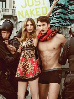 JUST CAVALLI FALL/WINTER 2013/2014 CAMPAIGN BY GIAMPAOLO SGURA