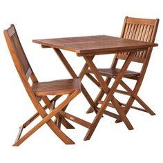 Smith & Hawken® Wood Folding Patio Dining Fu... : Target Mobile