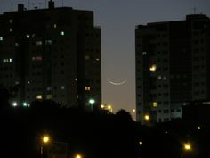 "1.2% crescent Moon. This photo was taken just 26hs after New Moon in Brasilia, Braxil. 2014-05-29. (Image credit: Leonardo Caldas) Mona Evans, ""Absolute Beginners - Observing the Moon"" http://www.bellaonline.com/articles/art2174.asp"