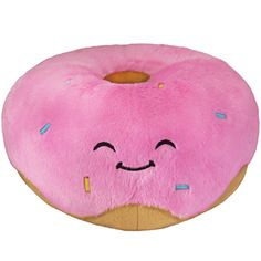 Squishable Pink Donut! A sweet pastry friend for you to cuddle! #squishable #pink #donut