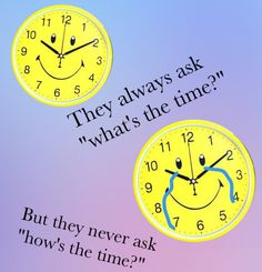 How's the time?