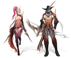 Collection of Aion's concept arts on Daeva's Report