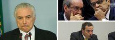 Temer e Cunha desviaram R$ 250 milhões da Caixa, diz Funaro (com provas!)