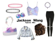 """A Festival, Wanna Go? (Jackson Wang Fan Fiction)"" by maddie-213 on Polyvore featuring mode, Miss Selfridge, Topshop, Hollister Co., Monsoon en Sydney Evan"