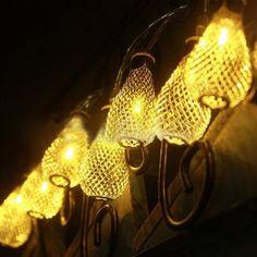 Romantische 2 Meter 20 Stks Led verlichting Peer String Lamp Party Bal String Lampen Xmas Wedding Decor Batterij Operated in romantische 2 meter 20 stuks geleid peer lamp snaar lichten partij bruiloft decor xmas ball snaar lampen werkt op batter van Decoratieve bloemen& kransen op AliExpress.com | Alibaba Groep
