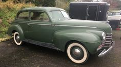 Green & Gorgeous! 1940 Oldsmobile Barn Find - http://barnfinds.com/green-gorgeous-1940-oldsmobile-barn-find/