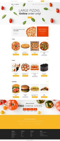 Food Delivery Responsive Shopify Theme #64928