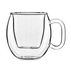 Luigi Bormioli Brazil Double-Wall Glass Espresso Cup - BedBathandBeyond.com