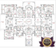 Luxury House Plans in UAE by Antonovich Designs   MANSION FLOORPLANS ...
