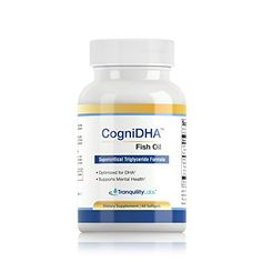 High DHA Omega 3 Fish Oil – CogniDHA – Pharmaceutical Grade – Supercritical Triglyceride Formula – mg DHA/EPA – Excellent for Prenatal – Cognitive, Brain and Mood Support – One Month Supply Capsules) Sport Diet, Omega 3 Fish Oil, Higher Dose, Prenatal Vitamins, Brain Health, Formula 1, Body Care, Healthy Life, Nutrition