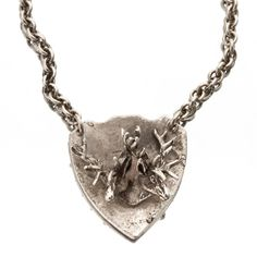 Sideshow Deer Necklace  by SNASH JEWELRY  #Antler #Antlers