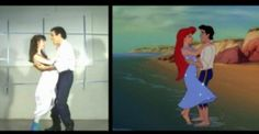 Live action reference footage which became of the animated dance scene in Disney's The Little Mermaid Prince Eric, Handsome Prince, Live Action, Disney Movies, The Little Mermaid, Acting, Family Guy, Scene, Animation