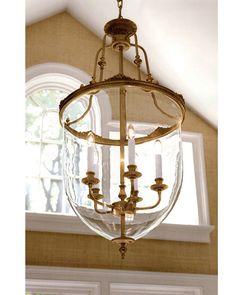 lanterns - Empire lantern - Empire lantern in French gold