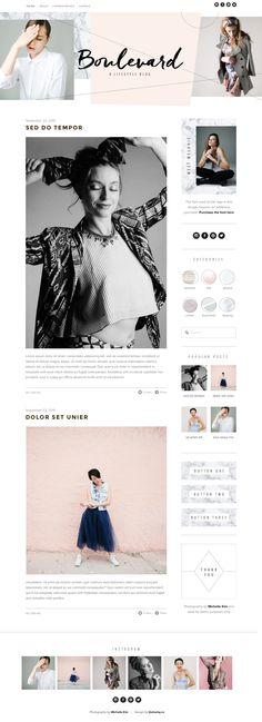 modern fashion blog - by GOLIVEHQ.Co