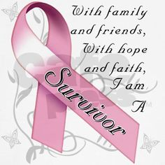 i am a survivor with the help of my family and friends breast cancer - Bing Images Breast Cancer Quotes, Breast Cancer Tattoos, Breast Cancer Survivor, Cancer Survivor Quotes, Krebs Tattoo, Breast Cancer Inspiration, Brain Cancer Awareness, Epilepsy Awareness, Diabetes Awareness